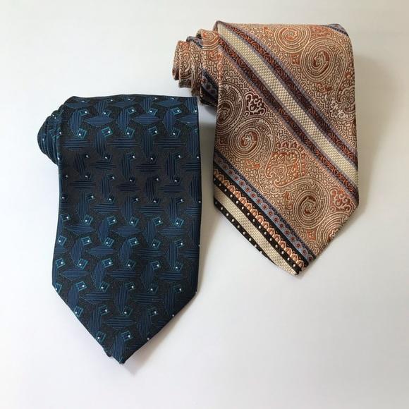 490634ee1ab3 Yves Saint Laurent Accessories   Silk Tie Lot   Poshmark
